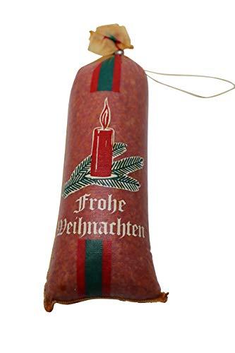 Geschenkset Weihnachtsmann Salami Tepenhof Mettwurst