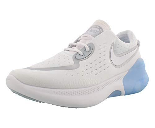 Nike Zapatillas de entrenamiento para mujer, (Blanco/Blanco-metalizado Silver-aura), 40.5 EU