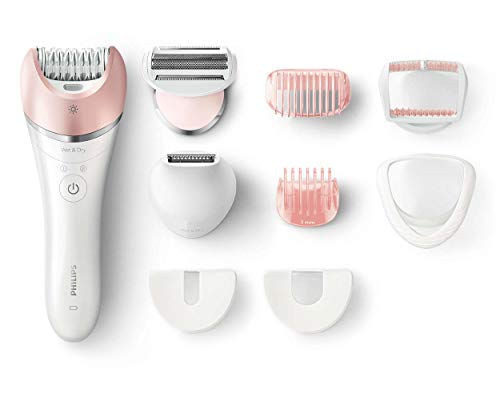 Philips BRE640/00 Satinelle Advanced Wet und Dry Epilierer, rosa