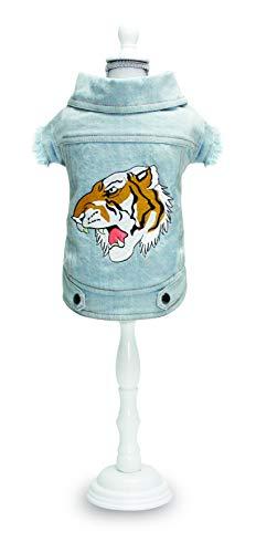Croci Blouson Jeans Street Tiger, 30 Cm Pour Chien