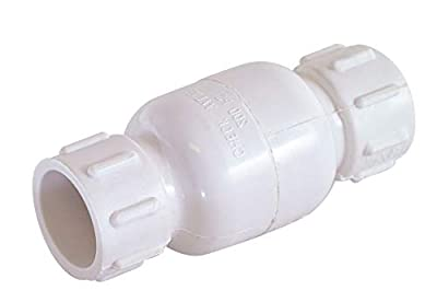 Ez-Flo 20452 PVC In-Line Check Valve from Ez-Flo