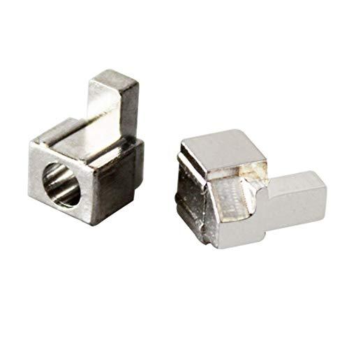 #N/V Hebillas de bloqueo de metal para Joy Con hebilla de bloqueo de metal original para Nintend Switch NS NX Joy-Con piezas de repuesto