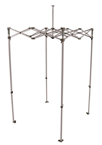 Impact Canopy 5' x 5' Pop-Up Canopy Tent Frame, Replacement Powder-Coated Lightweight Steel Frame with Dust Cover