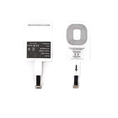 LanLan Qi-ontvanger voor iPhone, draadloos, Qi-ontvanger, ultradun, type C, voor iPhone 7/7 Plus, iPhone 6/6 Plus, iPhone 5/5S/5C, Android Golden Android reverse interface