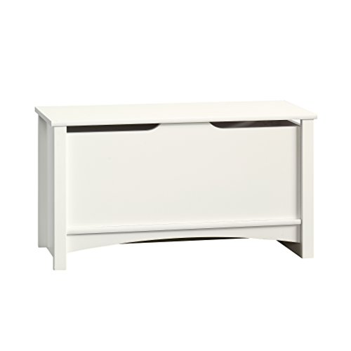 Sauder Shoal Creek Storage Chest, Soft White finish
