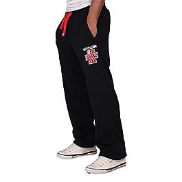 Nickelson Mens Designer Fleece Jogger Jogging Bottoms Pants Romford