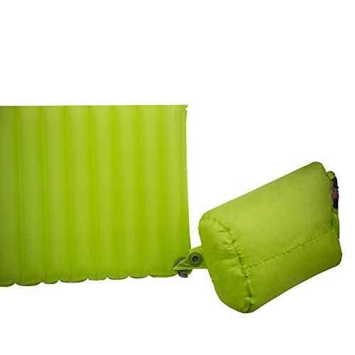 Camping Luftmatratzen, Outdoor Zelt Tragbar Camping Aufblasbares Luftkissen Airbag Isomatte Matte Leicht Wasserdicht Langlebig Für Wanderungen Auf Reisen,Grün
