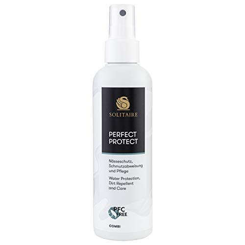 Solitaire Perfect Protect 200ml Pump-Spray Imprägnierung zum Schutz für Leder und Textilien, PFC-frei
