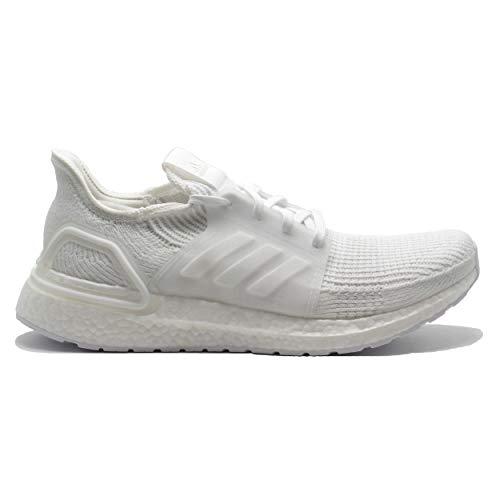 Adidas Ultraboost 19 Laufen-Jogging Schuhe fur Straße und Leichten Feldweg mit Neutraler Unterstützung für Männer Weiß 44 EU