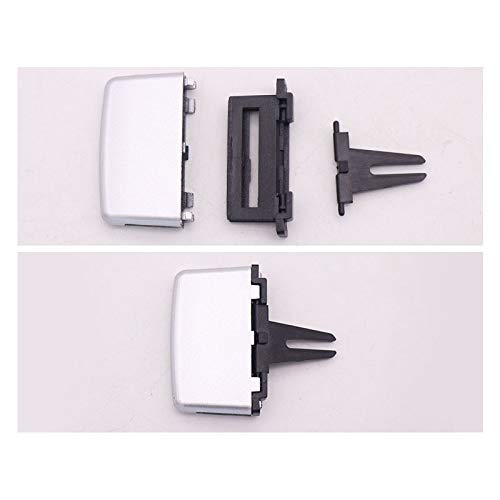 Aktualisiert für W207 W212 E260 Klimaanlagen-Ventilations-Clip Windrichtungseinstellung Plektrum-Knopf (schwarz)