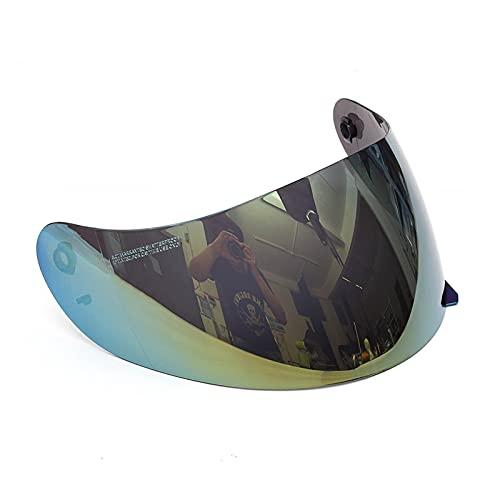 Lente de Visera de Casco, Visera De Lente De Ca-SCO De Motocicleta Motocross Visera De Ca-SCO De Cara Completa Visera De Ca-SCO Visera Gafas para AGV K3 K4 (Color : A)