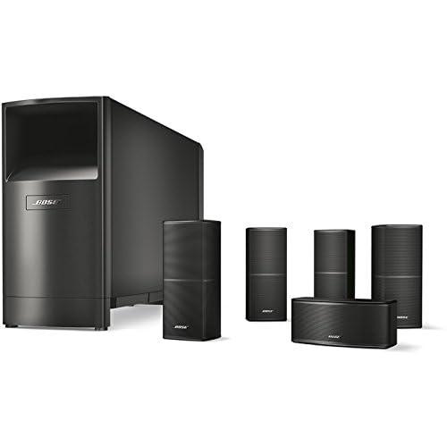 Bose® Sistema di diffusori home cinema Acoustimass® 10 Serie V, Nero