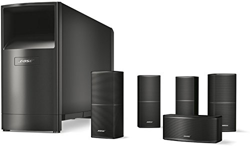 Bose® Acoustimass® 10 Series V - Equipo de Home Cinema 5.1, Negro