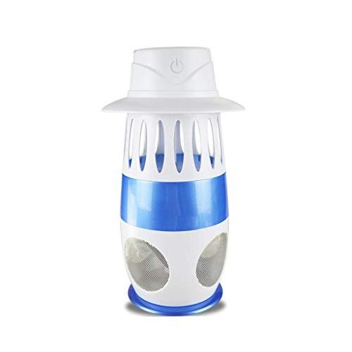 Baibao -Mosquito Lampe USB-Moskito-Mörder, UV Light Wave Physical Mosquito Trap-Repellent Lampe, Stille sicher ungiftig, Startseite Schlaf Büro Hotel Shops Catcher fliegen (Color : B)