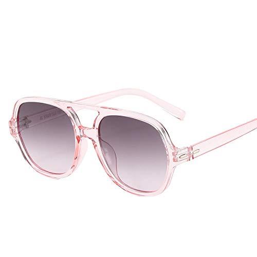 Gafas De Sol Gafas De Sol con Montura De Pc Grandes para Mujer, Gafas De Sol para Hombre Y Mujer, Gafas De Sol Transparentes Y Transparentes, Vintage 4