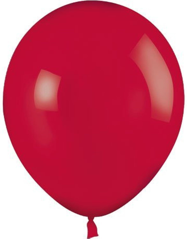 promociones emocionantes 100 Party Balloons - 11 Round Latex, Crystal Crystal Crystal rojo by Mayflower Products  tomar hasta un 70% de descuento