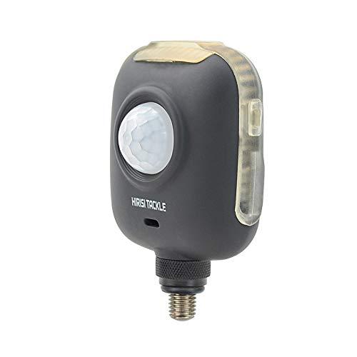 Hirisi Tackle Bank Watcher Monitor Diebstahlsicherung Alarm XT1 Bewegungsmelder für Karpfenangeln