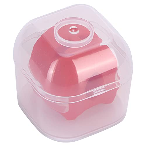 Ejercitador de mandíbula, Pelota de Entrenamiento de músculos faciales portátil Unisex de Silicona Duradera para lucir más Joven y Saludable para Definir la(Red-Small)