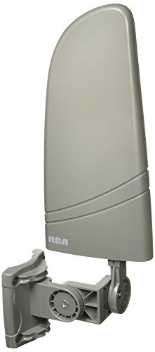 RCA ANT702Z Digital Amplified Indoor/Outdoor Antenna,black