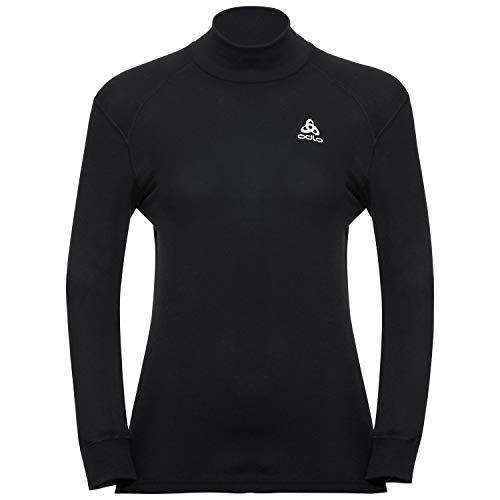 Odlo Originals Warm T-Shirt chaud col droit manches longues homme Noir Taille Fabricant : M