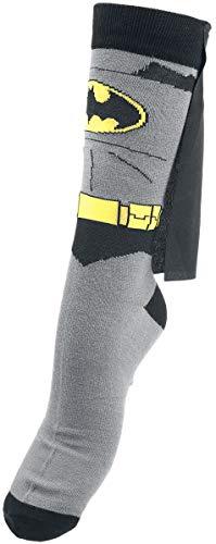 Batman Cape Socken schwarz/grau/gelb