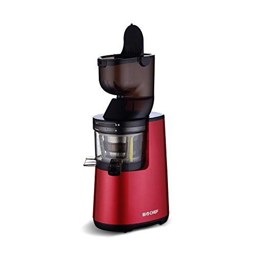 Extracteur de Jus BioChef Atlas Whole Slow Juicer - Rouge