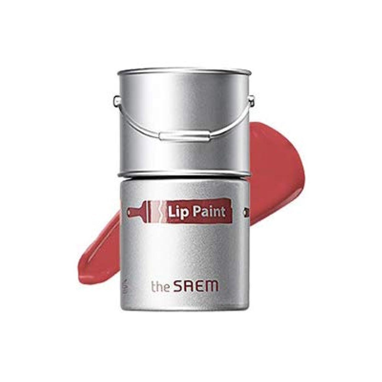 腸酸度取り組むtheSAEM ザセム リップペイント 6.5ml 10色 Lip Paint 口紅 リップグロース (05モーブグロウ)