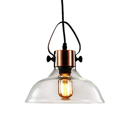 Lámpara kolommen industriële metalen folie en Window Tube 1 Luces voor tech Lampen Lámpara de acabado de cobre antiguo