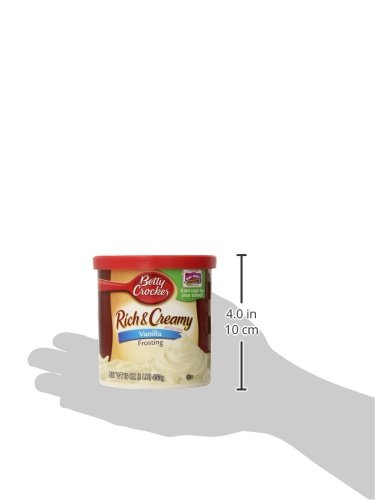 Betty Crocker Rich & Creamy Vanilla Frosting 16 oz