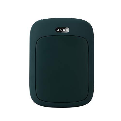 LAMA USB Aufladbarer Handwärmer 4000mAh Portable Powerbank Tragbarer Power Bank Elektrischer Taschenwärmer Wintergeschenk Handy Smartphone Kopfhörer MP3-Player Grün