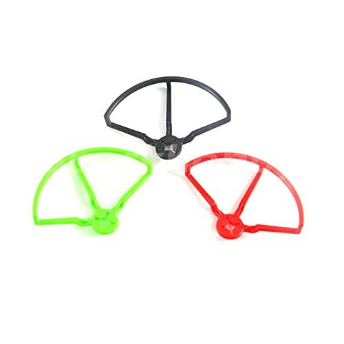 Accessori per droni 4 pezzi/Compatibile con Ldar.C 4 pollici 5 pollici Protezione paracolpi per elica universale Paraurti/Compatibile con parti fai da te modello Fpv Racing Drone Rc (Colore: 4 pezzi 5