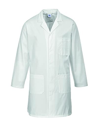 Portwest Blouse Standard pour homme, Couleur: Blanc, Taille: L, 2852WHRL