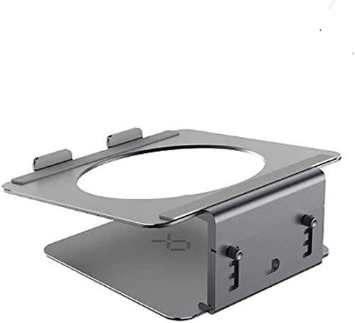 THBEIBEI Soporte de enfriamiento del Ordenador portátil del Ordenador Elevación Proteger La Columna Cervical Base giratoria de 17 Pulgadas Soporte de Almacenamiento