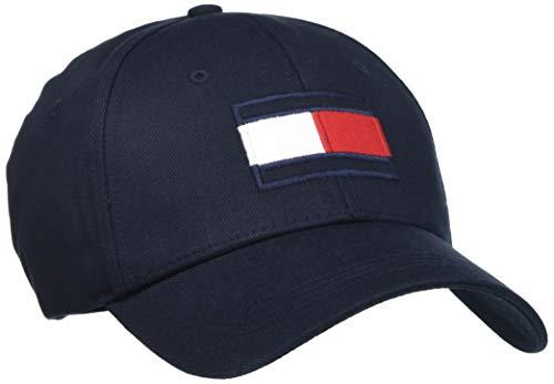 Tommy Hilfiger Herren Big Flag Cap Hut, Blue, OS