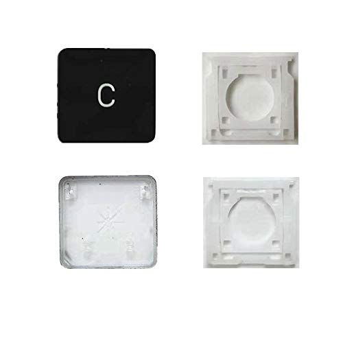 Replacement Individual AP08 Type C Key Cap and Hinges are Applicable for MacBook Pro Model A1425 A1502 A1398 for MacBook Air Model A1369/A1466 A1370/A1465 Keyboard to Replace The C Key Cap and Hinge
