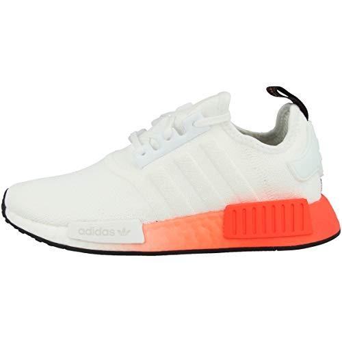 adidas Jungen NMD_R1 J Sneaker Weiß, 38