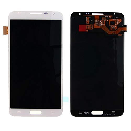 Reemplazo extraíble 2 PCS 0.26mm 9H 2.5D Película de vidrio templado for Galaxy J7 / J701 Accesorio (Color : White)