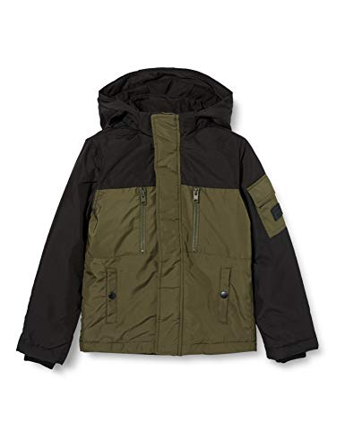 Jack & Jones Junior Jungen JJFERGUS Jacket JR Jacke, Forest Night, 176
