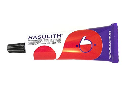 Sescha Schmuckkleber/Bastelkleber Hasulith - 3 Tuben â 30 ml