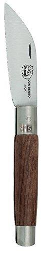 Imex El Zorro 51318-i – Couteau Coupe Droite, Couleur Marron, 8 cm