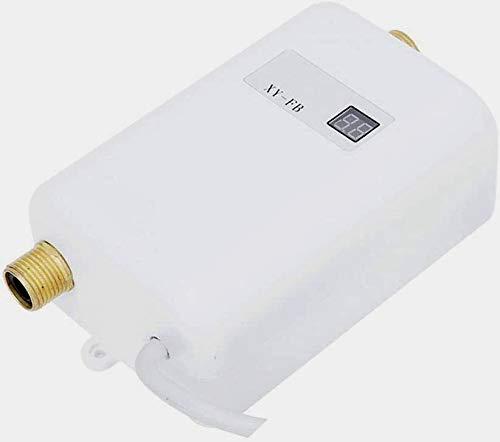 KKTECT Mini calentador de agua Calentador de agua instantáneo eléctrico sin tanque...