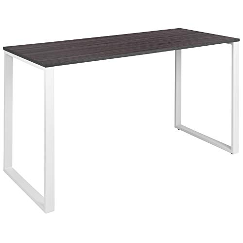 Flash Furniture Commercial Grade Industrial Style Office Desk - 55' Length (Rustic Gray)