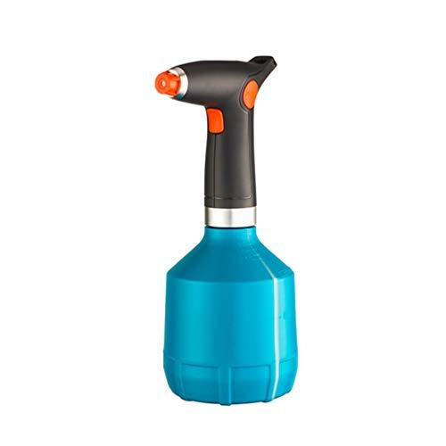 Yardwe Botella de Spray de Planta Eléctrica Mister Automático de Mano Pequeño Pulverizador de Plástico Automático Regadera Interior para Jardín Casa Flor Carga USB