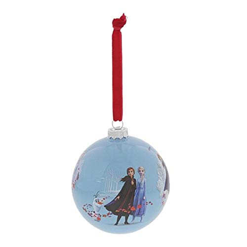 Enchanting Disney, Bola de Navidad para colgar de Frozen, Enesco