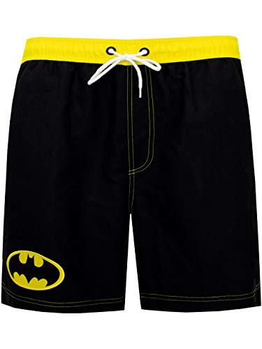DC Comics Herren Batman Badeshorts Schwarz X-Large