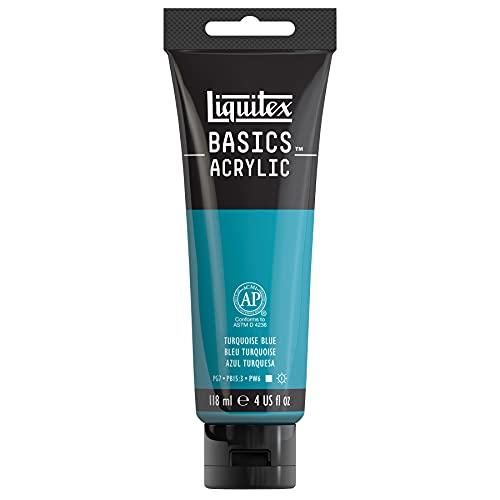Liquitex Acrylique Basics Tube 118 ml Bleu Turquoise