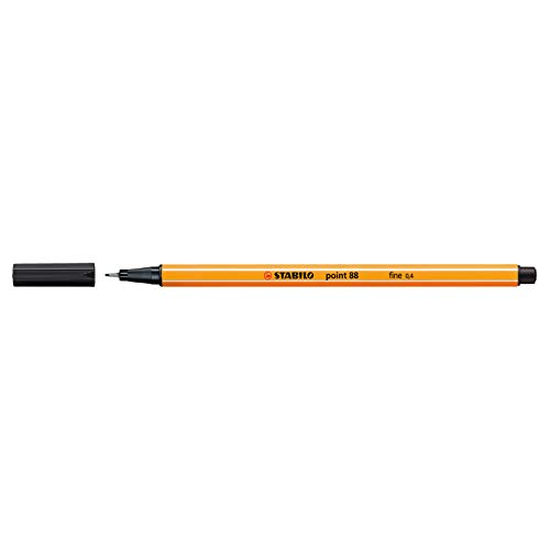 Fineliner - STABILO point 88 - 10er Pack - schwarz