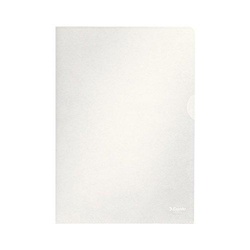 Esselte Sichthüllen-Set Standard Plus, 100 Stück, A5 Format, Farblos mit matter Oberfläche, 0,115 mm PP-Folie, 54850