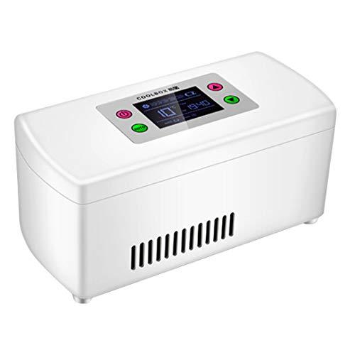 ZYFA Mini-koelkast, koelbox, draagbaar, voor auto, medicijnen en andere apparaten