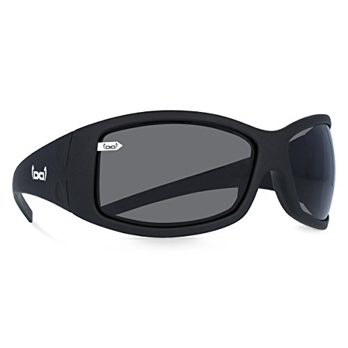 gloryfy unbreakable (G2 Pure black) - Unzerbrechliche Sport Sonnenbrille, Sun Glasses Unisex, Sportlich, Damen, Herren - Schwarz